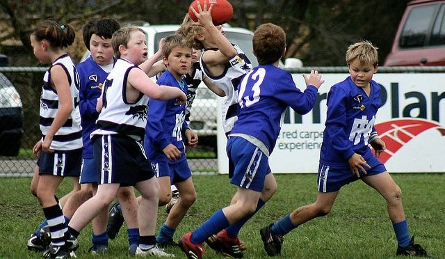 Junior Australian Football: The Interchange Rule