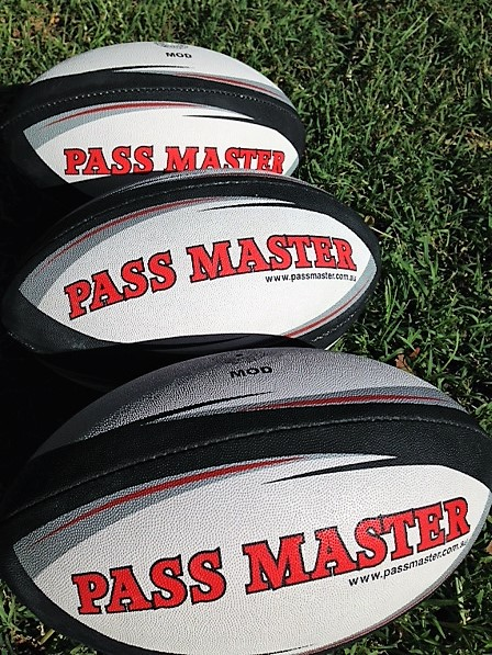 MOD rugby balls x 3 LOW RES