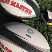 Mod Rugby training balls x 2 one with cord one without