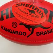 Sherring Kangaroo AFL full size ball - LR