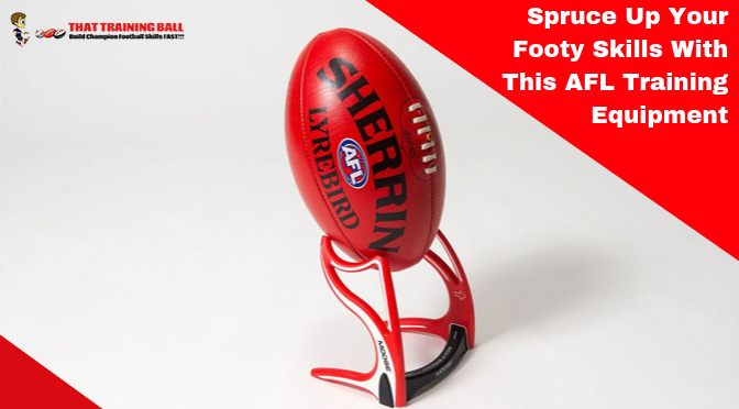Spruce Up Your Footy Skills With This AFL Training Equipment