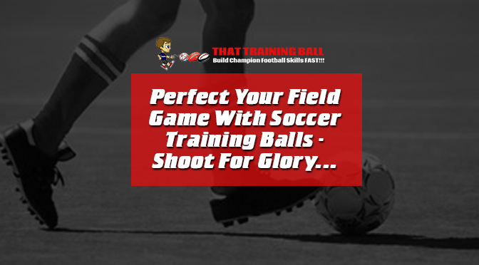Perfect Your Field Game With Soccer Training Balls – Shoot For Glory…