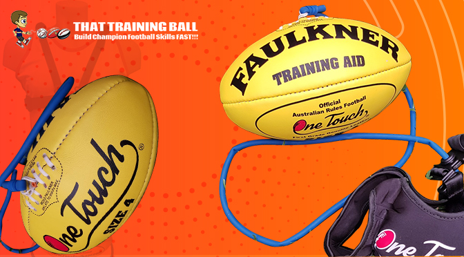 What are the Benefits of Practicing with AFL Ross Faulkner Training Ball on a String?