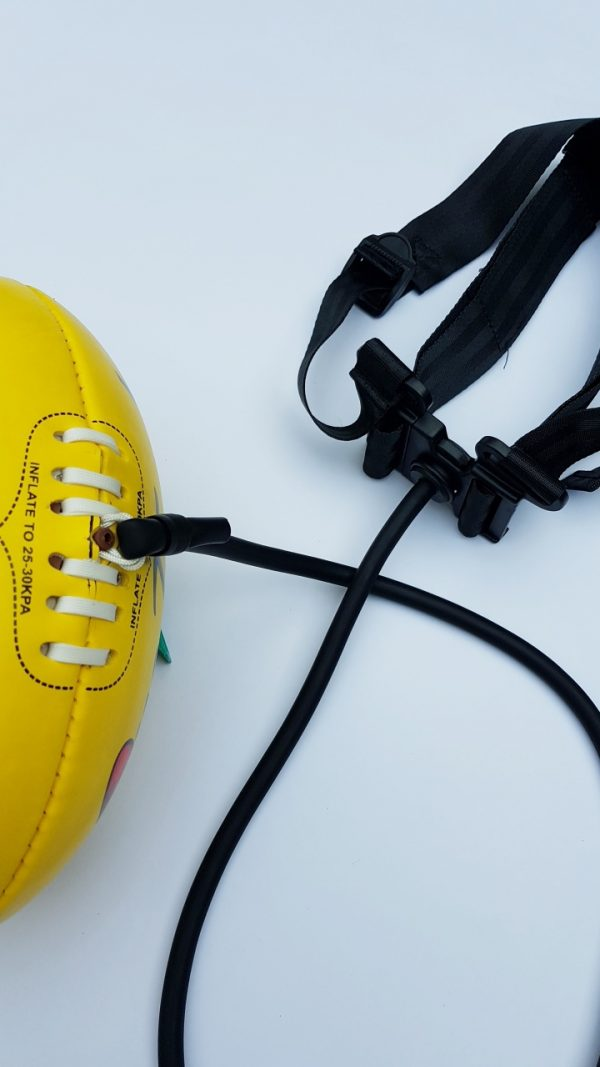 How the cord attached to One Touch Ball