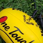 Mini One Touch AFL ball