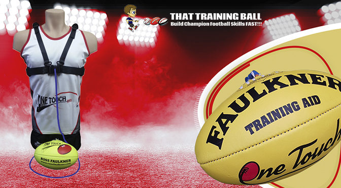 What makes the Ross Faulkner One Touch AFL Footballs so Adored?
